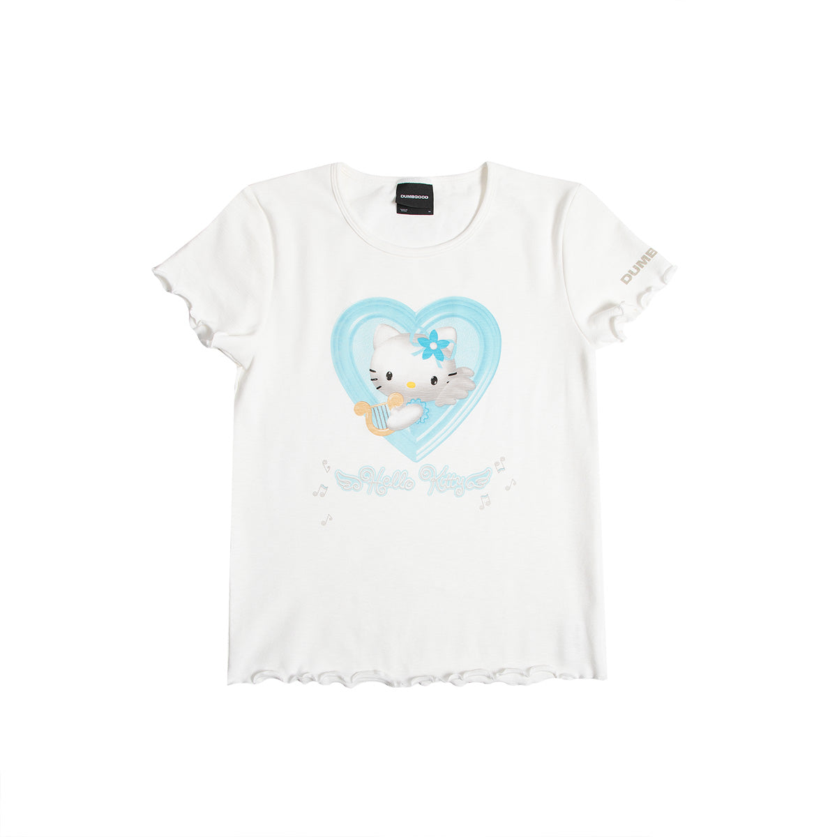 Exclusive! Hello Kitty Angel Lettuce Hem Tee