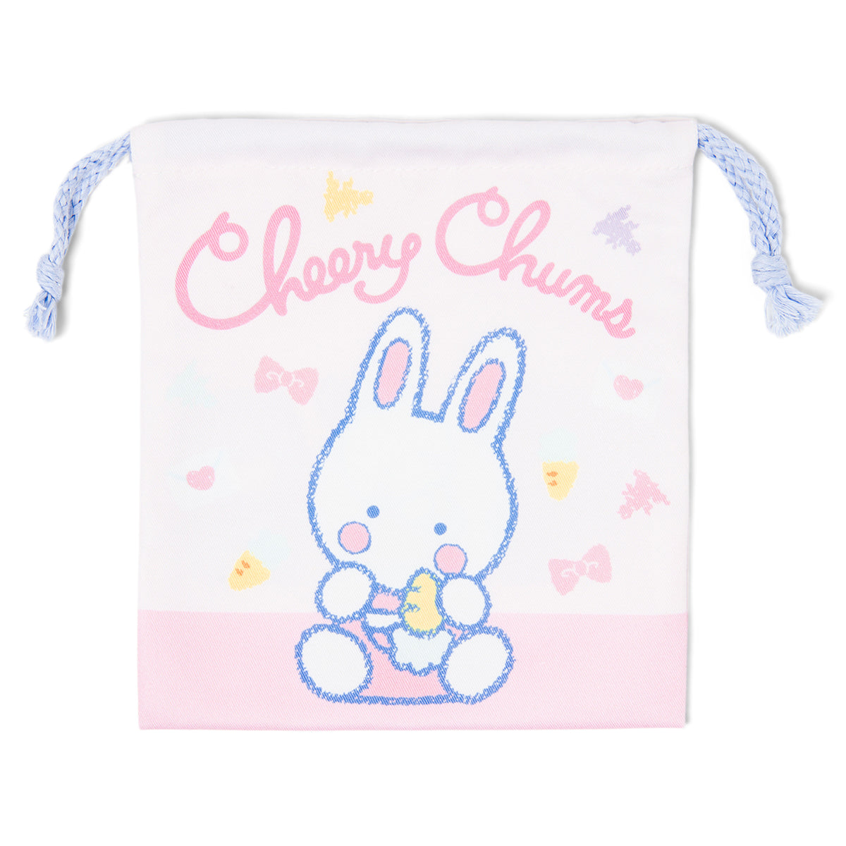Cheery Chums Classic Character Drawstring Bag