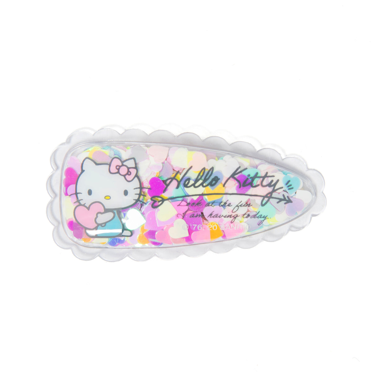 Hello Kitty Confetti Hair Clip