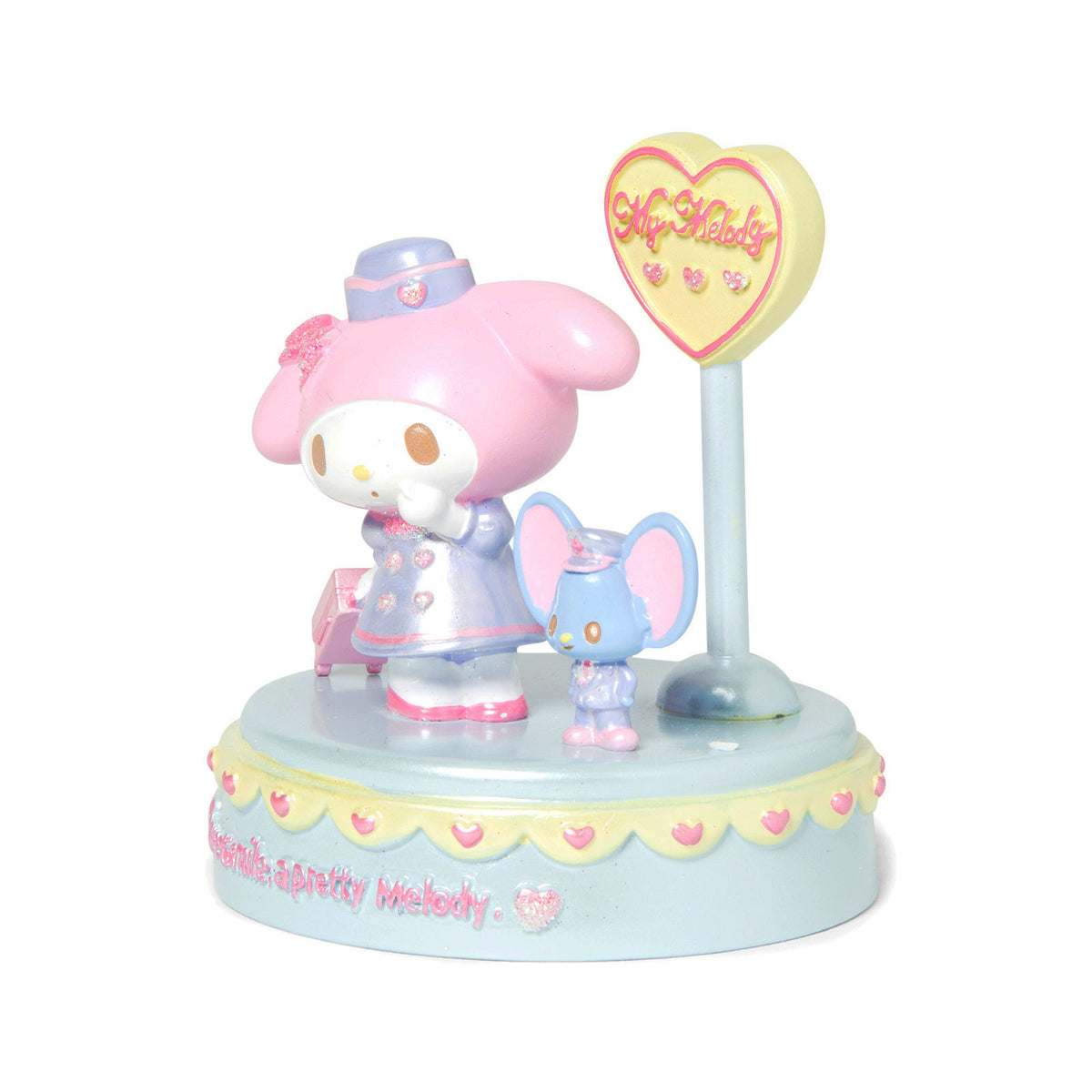My Melody Diorama Figurine Flight Attendant