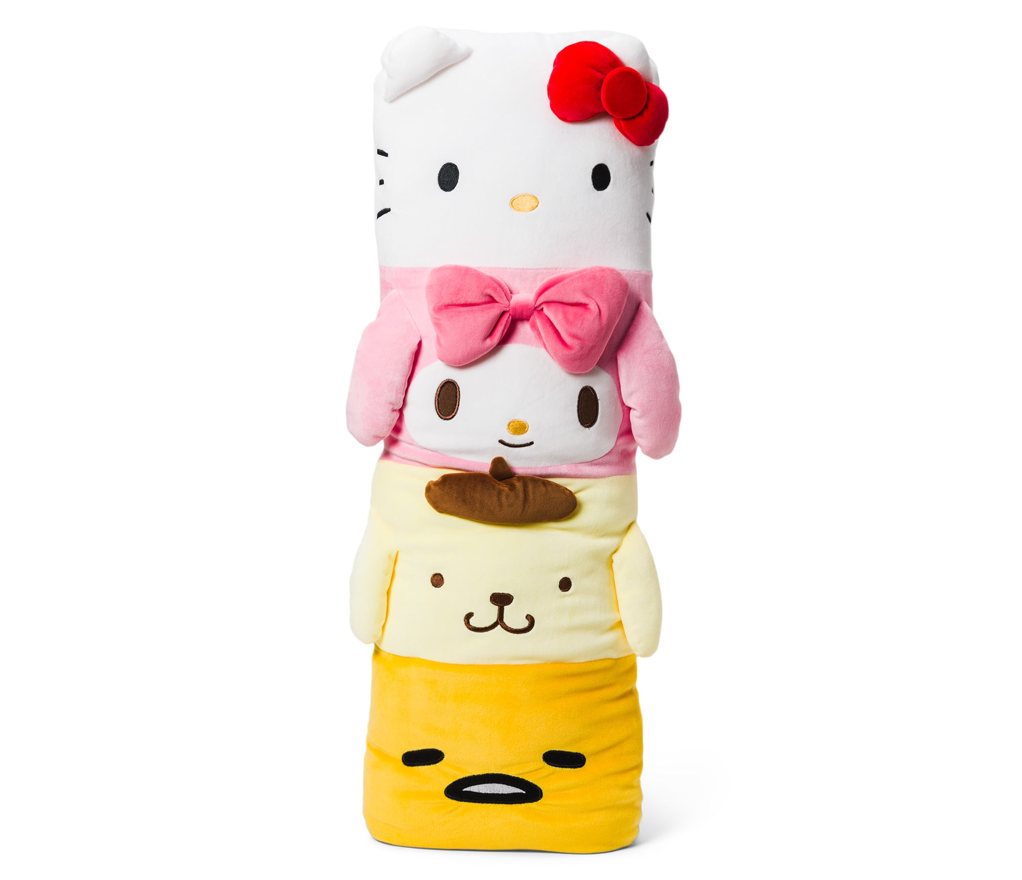 Hello Kitty & Friends Plush Pillar Pillow