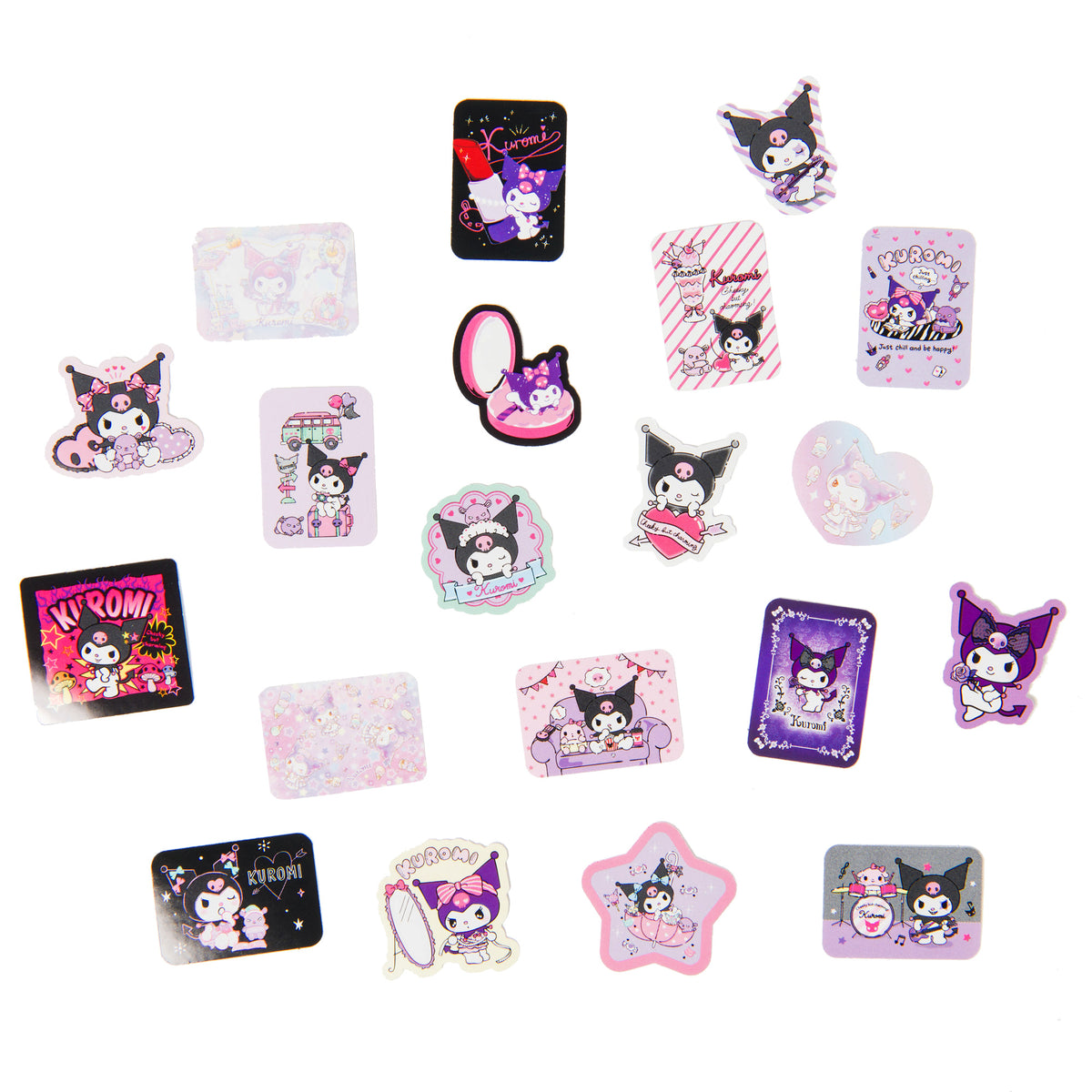 Kuromi Shopping Bag Stickers