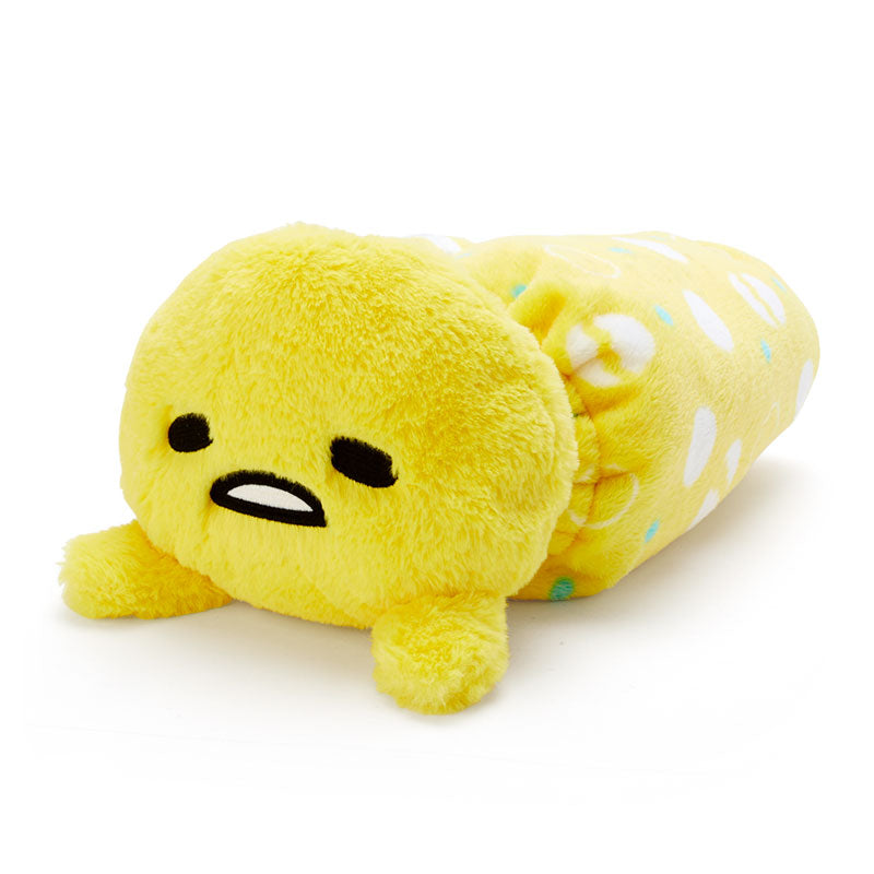 Gudetama Plush Cushion Blanket
