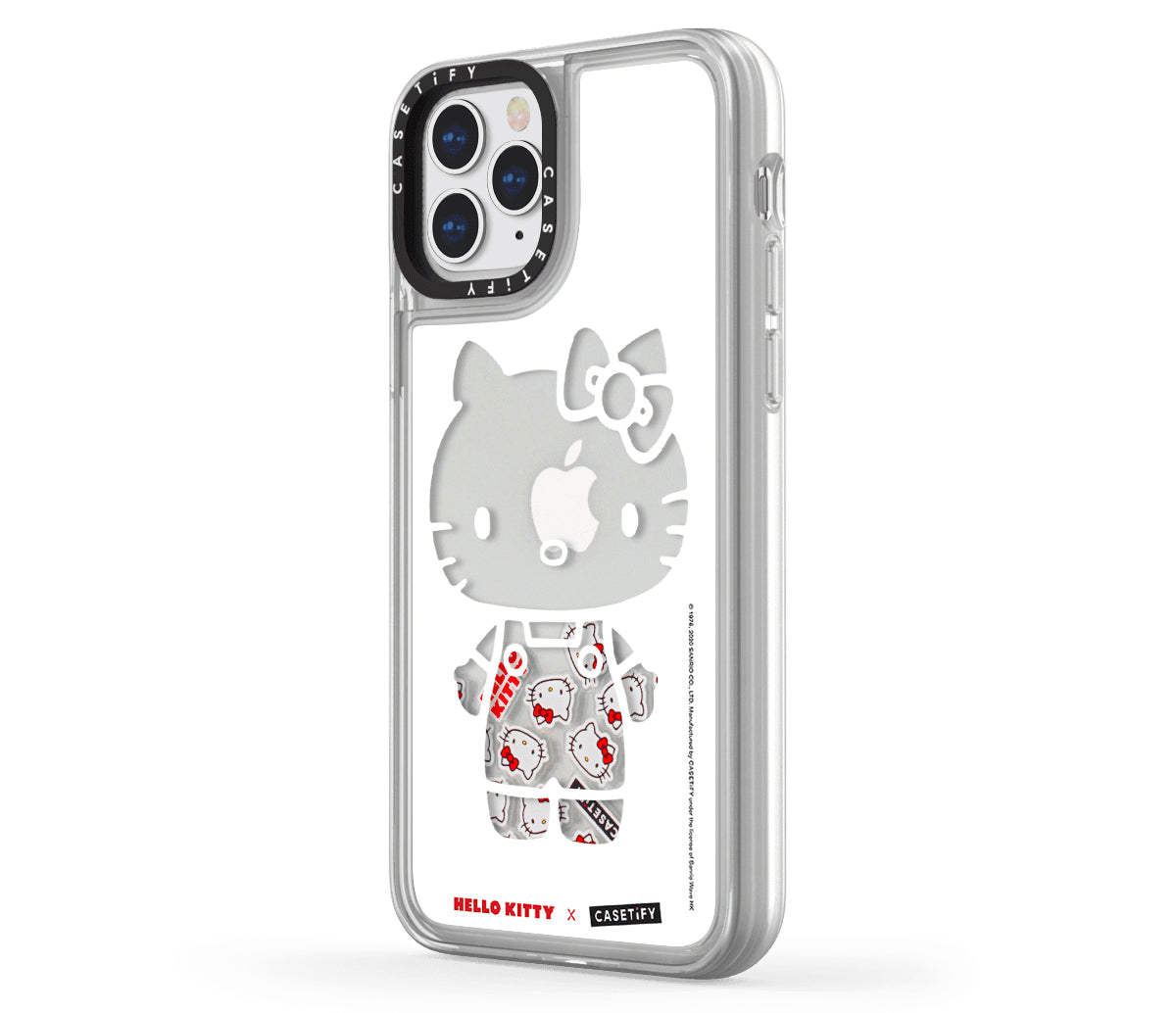 Hello Kitty x Casetify Floaty iPhone Case Kitty Pattern