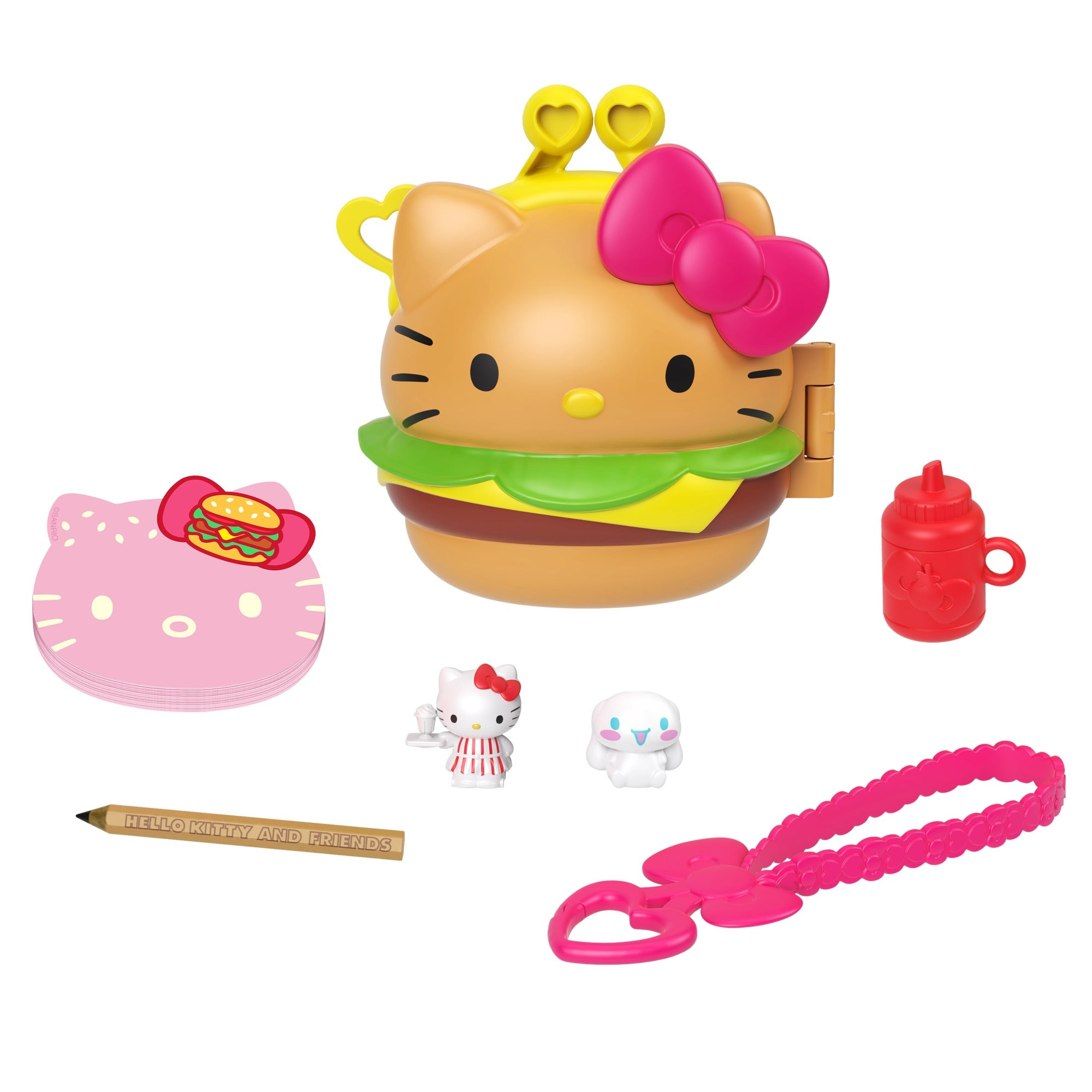 Mattel Hello Kitty & Friends Minis Burger Diner Playset