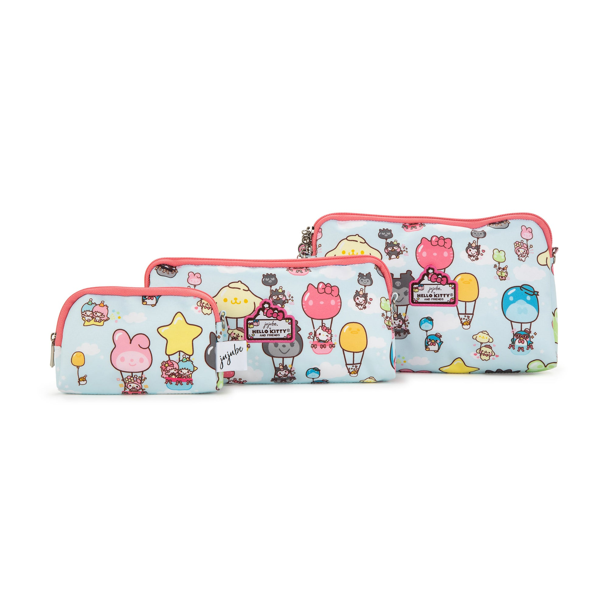Sanrio x JuJuBe Party In The Sky Be Set Pouches