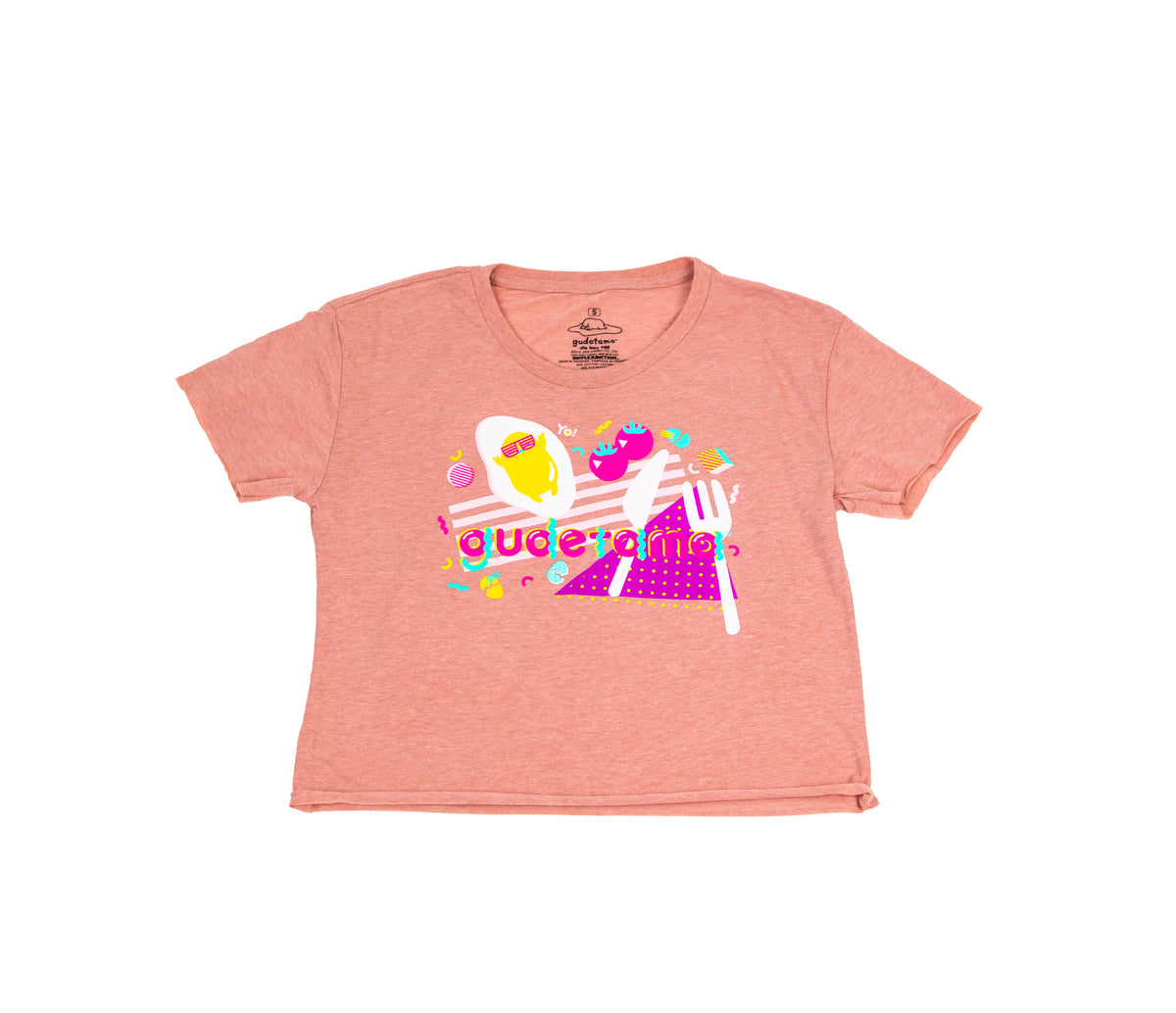 Lazy 80s Gudetama Totally Crop Tee