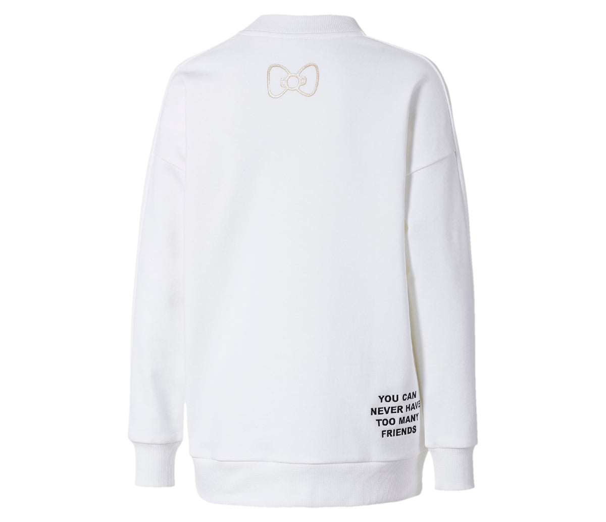 PUMA x Hello Kitty Crewneck: White
