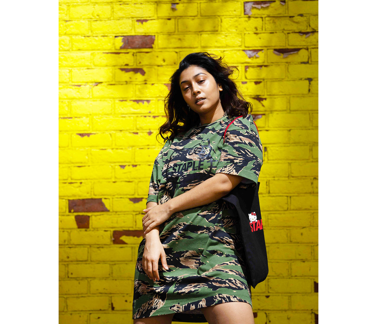 Staple Pigeon x Hello Kitty Camo Dress Exclusive