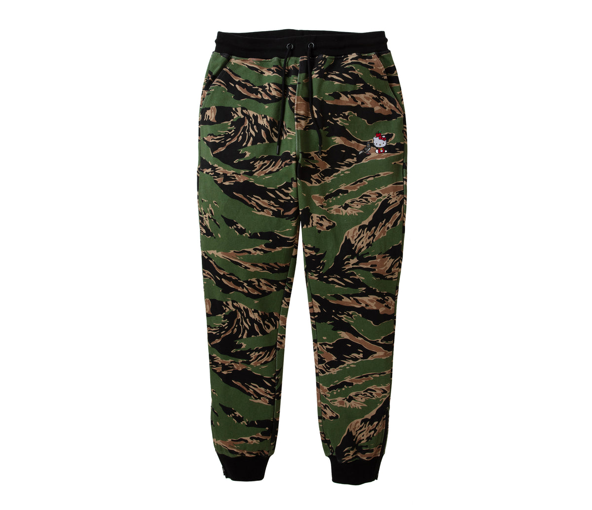Staple Pigeon x Hello Kitty Camo Joggers