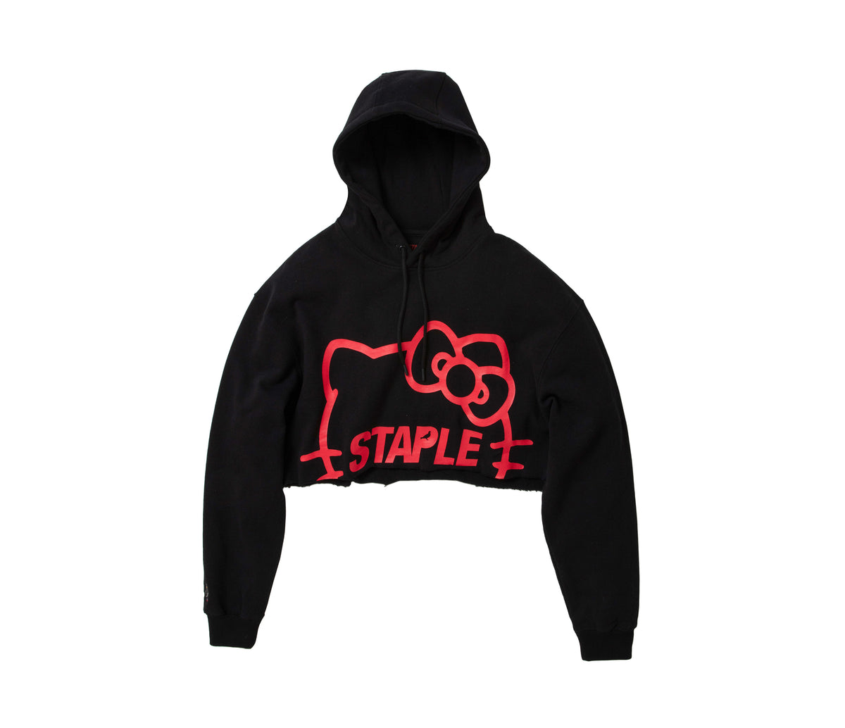Staple Pigeon x Hello Kitty Cropped Hoodie Exclusive