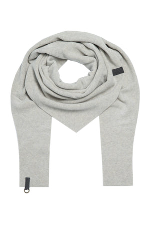Load image into Gallery viewer, Triangular Fleece Scarf - Sand