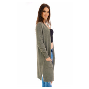 Sage green soft knit cardigan