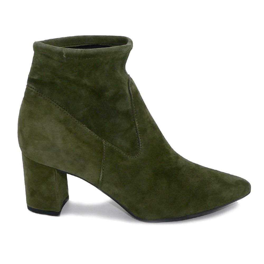 Peter Kaiser Green Suede Ankle Boot 87619.398