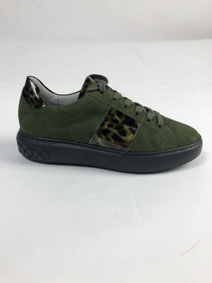 Peter Kaiser Pine Suede Leather Trainer Shoe 26677.707
