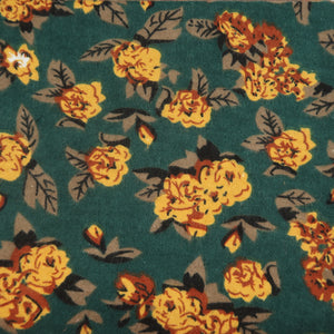Yellow flowers - scarf