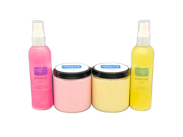 Shimmer Mist & Body Polish Gift Set