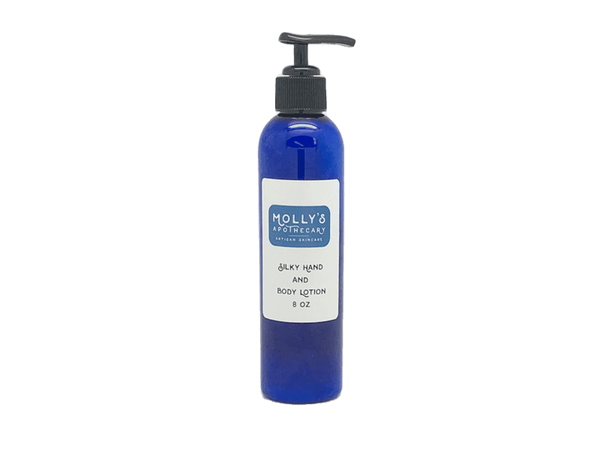 Silky Hand and Body Lotion - 8 oz.