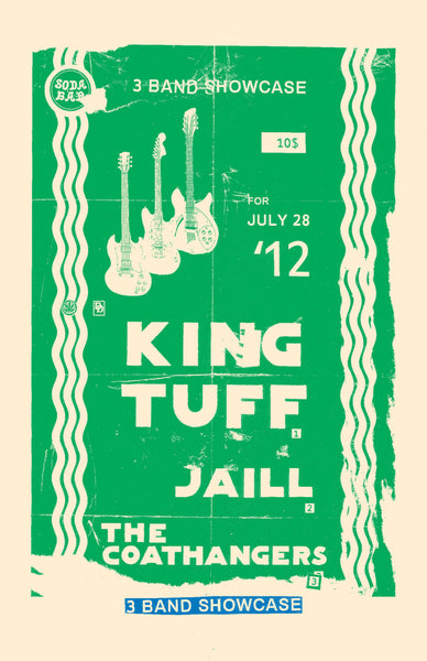 Poster - King Tuff @ Soda Bar - 07.28.2012