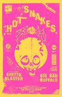 Poster - Hot Snakes @ The Irenic - 09.10.2014