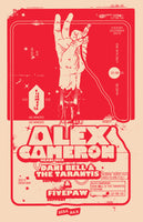 Poster - Alex Cameron @ Soda Bar - 12.06.2016