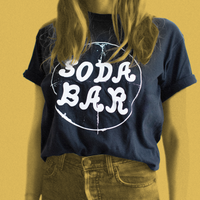 Soda Circle Logo - Black