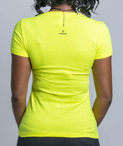 Moms Matter Neon Yellow Summer Tee