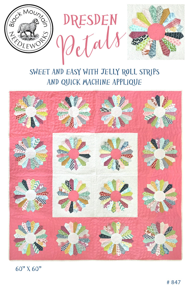 *NEW* Dresden Petals--printed pattern