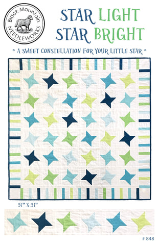 **NEW* Star Light Star Bright--printed pattern