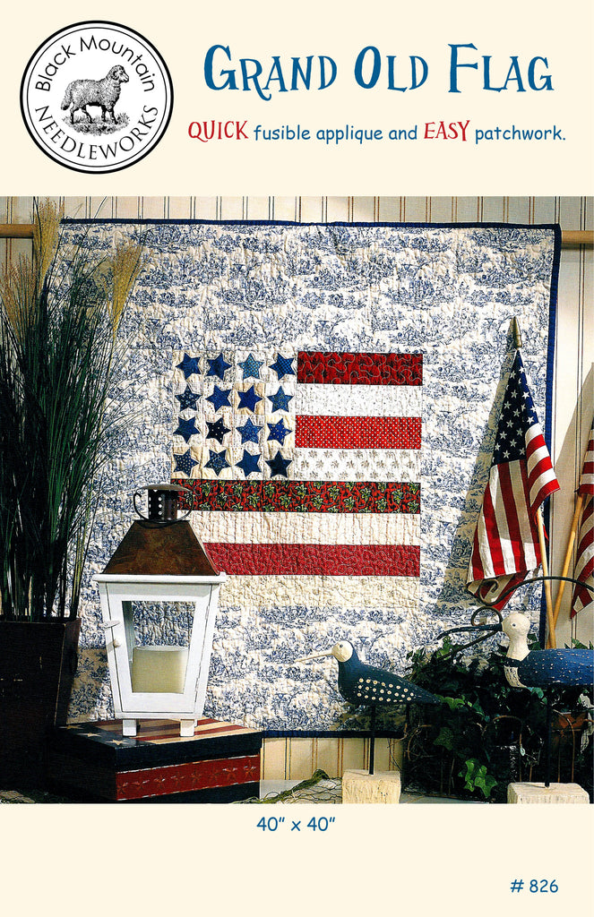 Grand Old Flag--download PDF pattern
