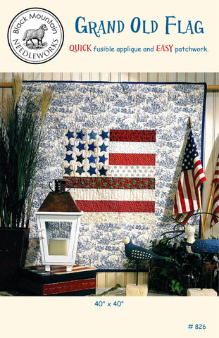 Grand Old Flag--printed pattern