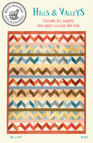 Hills & Valleys--download PDF pattern