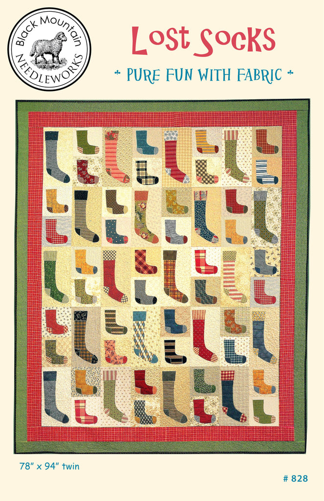 Lost Socks--printed pattern