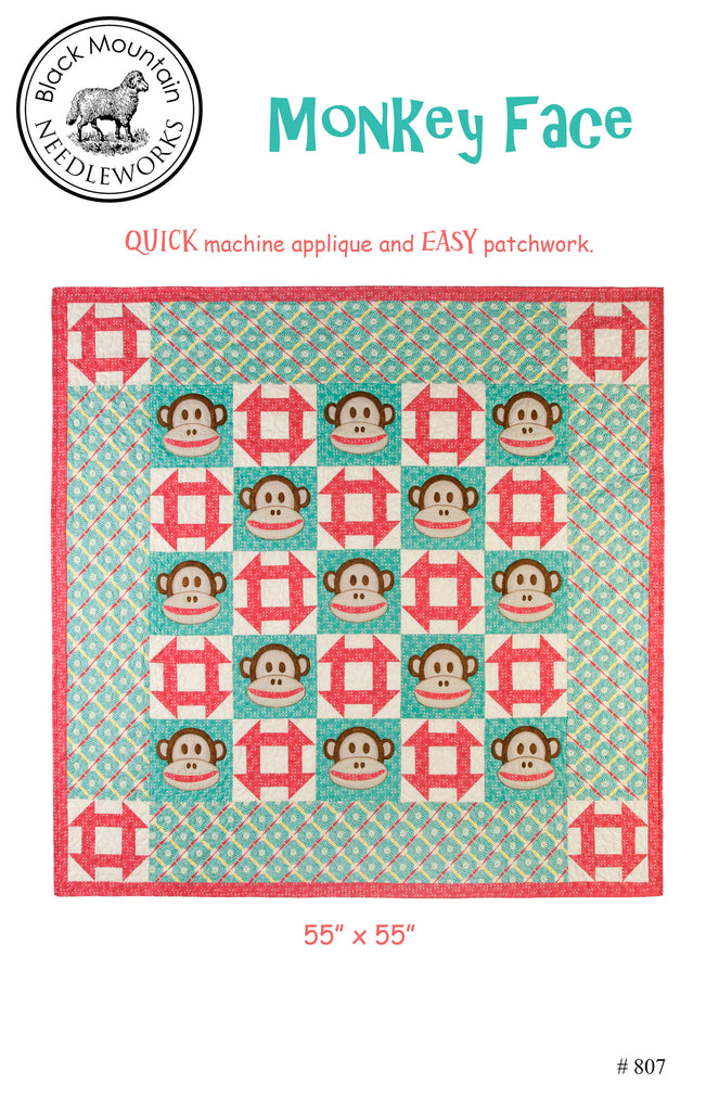 Monkey Face--printed pattern