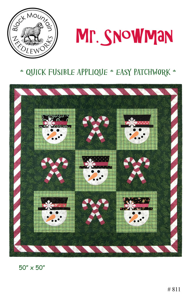 Mr. Snowman--download PDF pattern