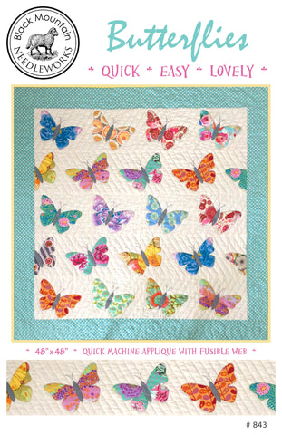Butterflies--printed pattern