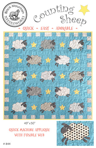 *NEW* Counting Sheep--download PDF pattern