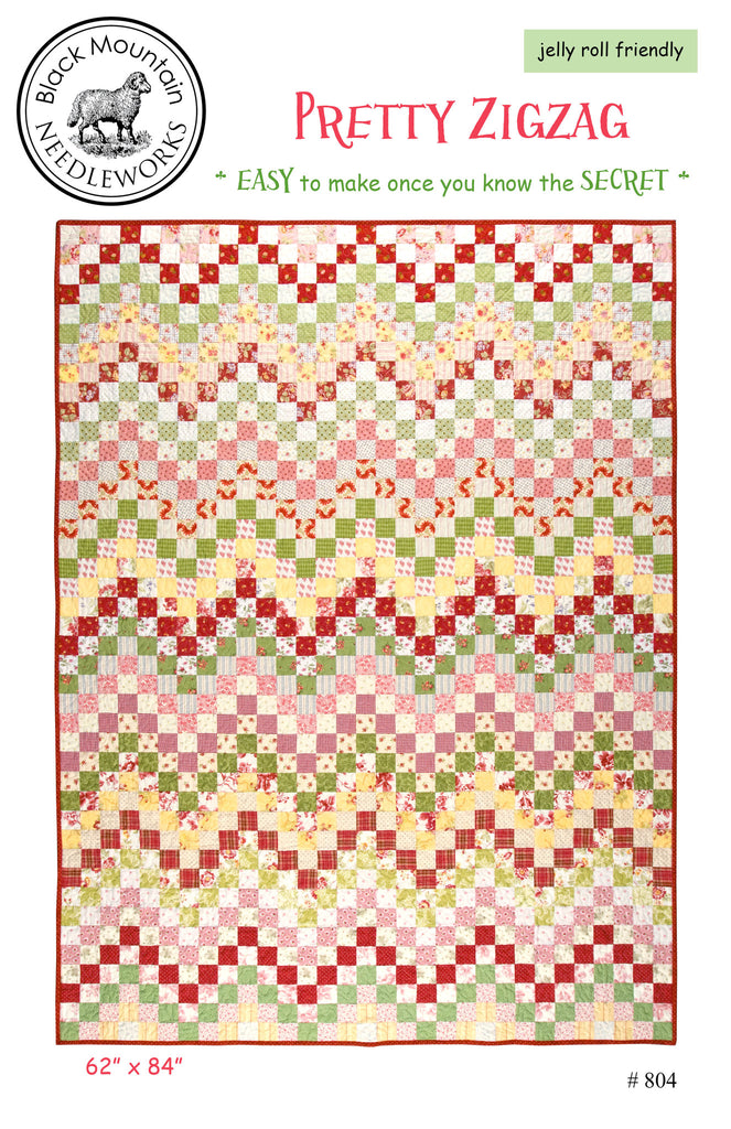 Pretty Zigzag--printed pattern