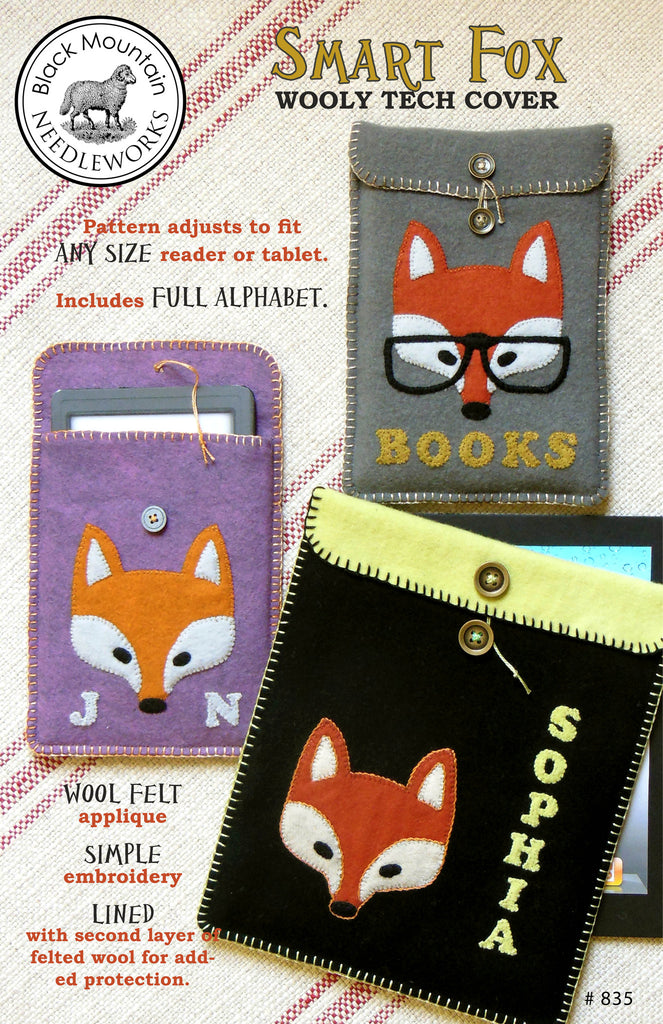 Smart Fox--printed pattern