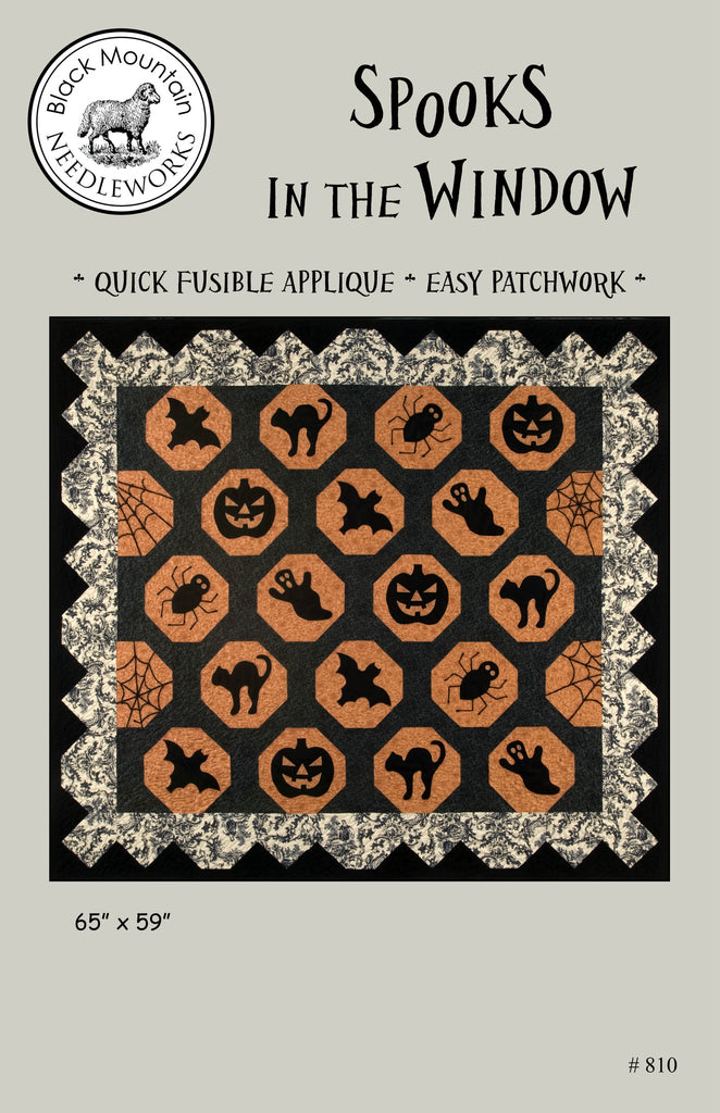 Spooks in the Window--printed pattern
