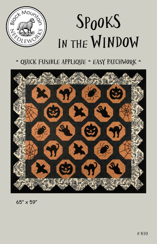 Spooks in the Window--download PDF pattern