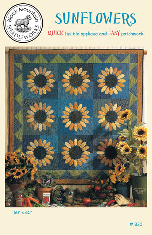 Sunflowers--download PDF pattern