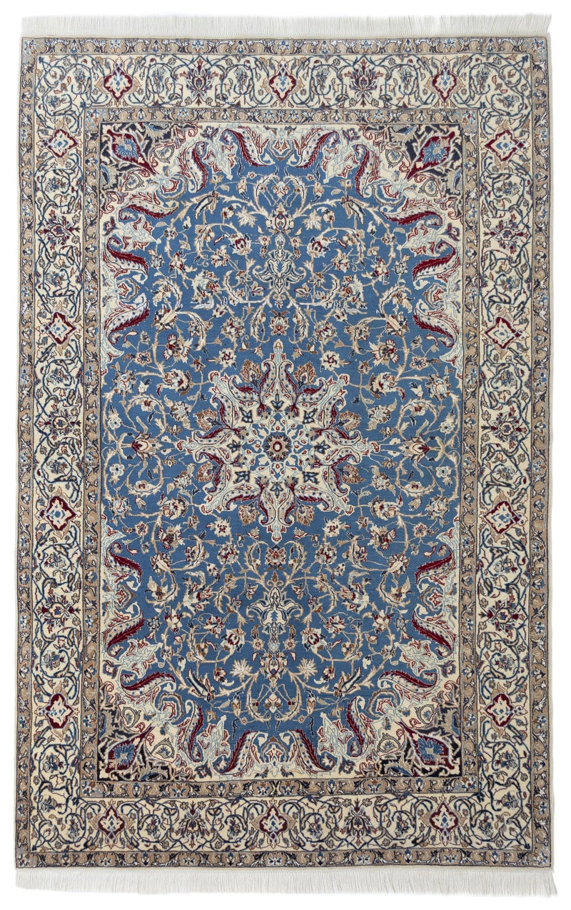 Nain City Blue Rug