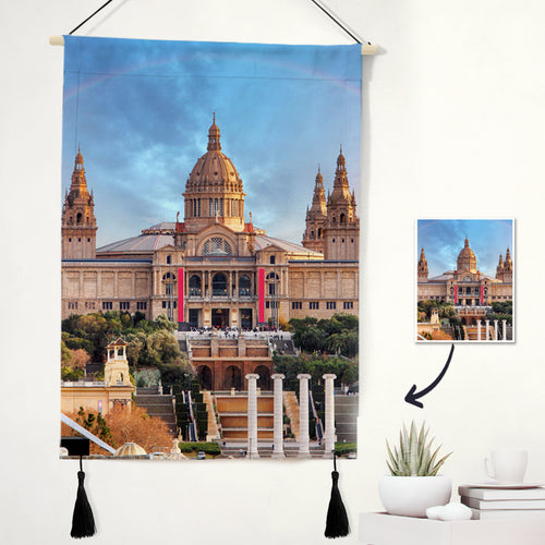 Custom Photo Tapestry - Scenery Wall Art Home Decor Tapestry