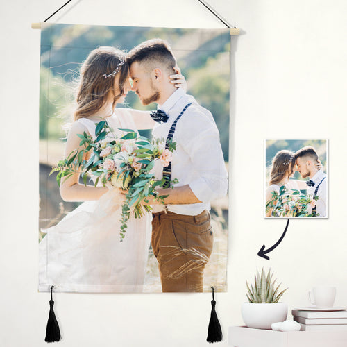 Custom Photo Tapestry - Love Wall Art Home Decor Tapestry