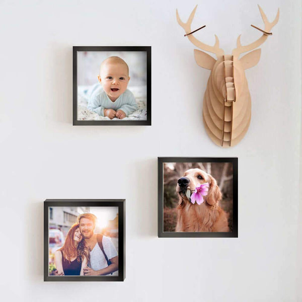 "8""x8"" Pesonalized Square Collage Picture Frames Gifts for Her"