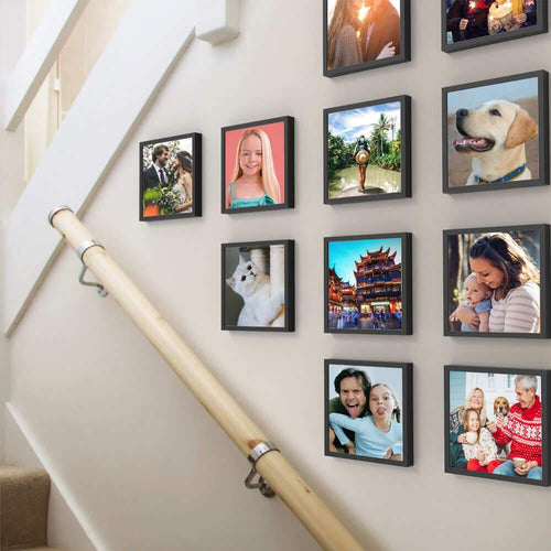 Custom Square Photo Tiles 8