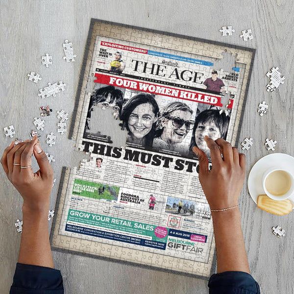 The Age Australia Newspapers Jigsaw Puzzle