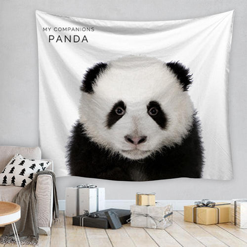Panda Tapestry, Wall Decor Hanging Tapestry