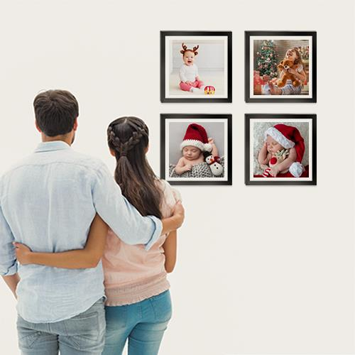 Christmas Gift For Family Photo Tiles 8